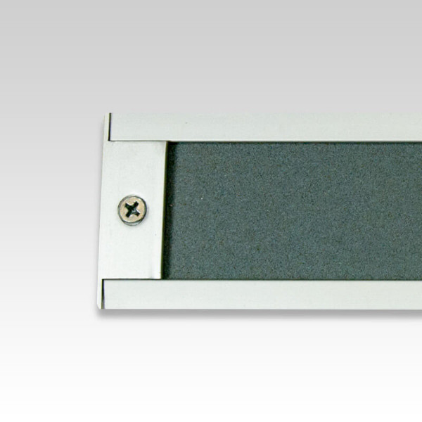 2 Inch Aluminum Display Rail with optional End Stop