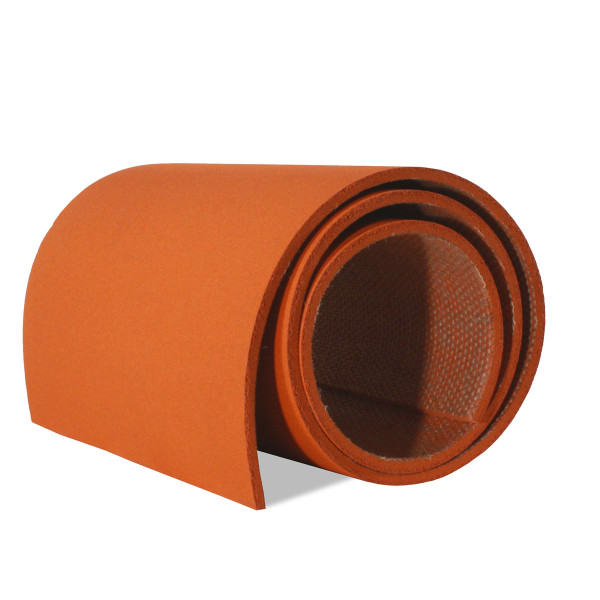 Picture of Forbo Tangerine Zest 2211 colored cork roll slit to 12 inch width