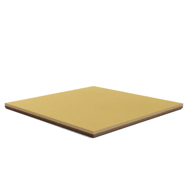 Forbo Fresh Pineapple 2212 Bulletin Board cork on hardboard backer