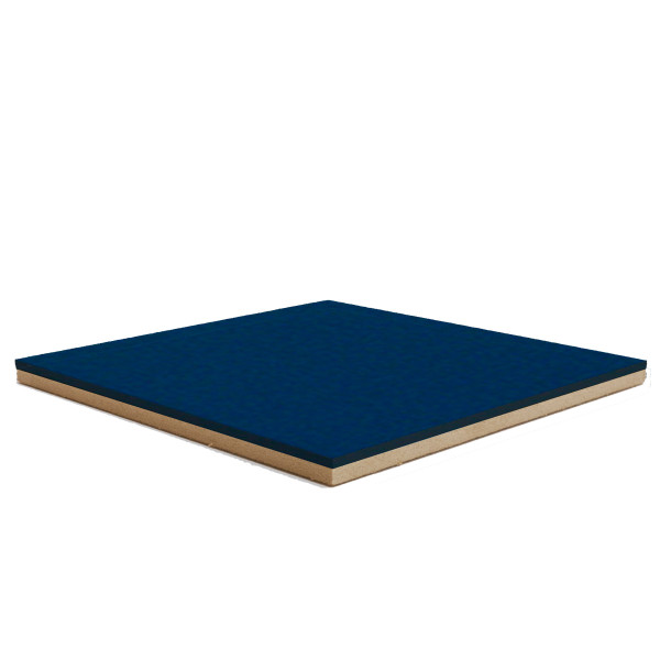 Forbo Blue Berry 2214 Bulletin Board cork on fiberboard backer