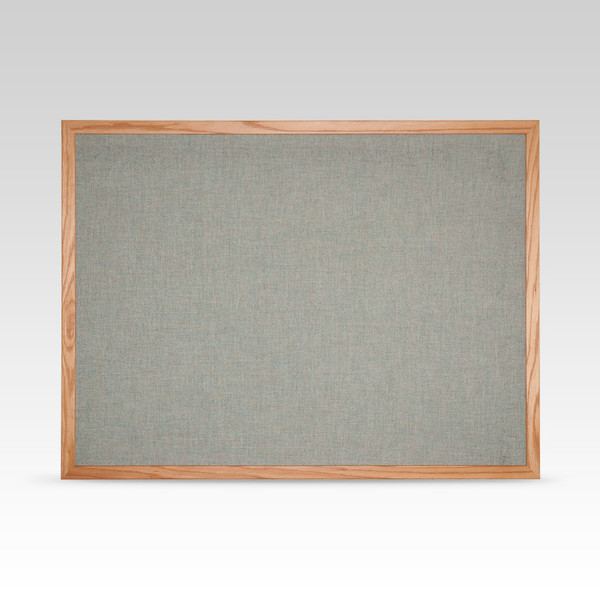 36 Quot X 48 Quot Fabric Cork Board Wood Frame