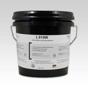 Image of Forbo L910W adhesive in 1 gallon pail for direct application of cork sheets in vertical applications