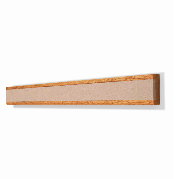 Wooden Display Rail Blanched Almond 2186